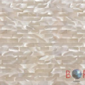White Mother of Pearl Snow LB Borga Marmi