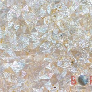 White Mother of Pearl Rainbow 3D Borga Marmi