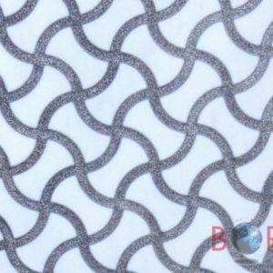 Bianco Lasa Wave Silver Borga Marmi