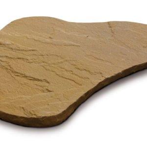 borga marmi - camminamenti pas japonais - golden leaf irregolare