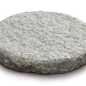 borga marmi - camminamenti pas japonais - granito grigio cerchio
