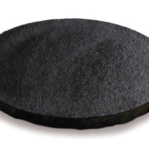 borga marmi - camminamenti pas japonais - nero assoluto cerchio