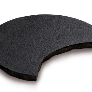 borga marmi - camminamenti pas japonais - nero assoluto mezzaluna