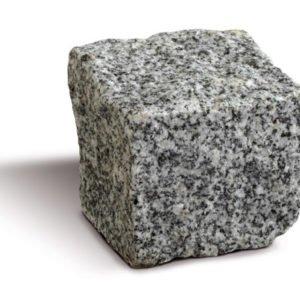 borga marmi cubetti pavè granito grigio
