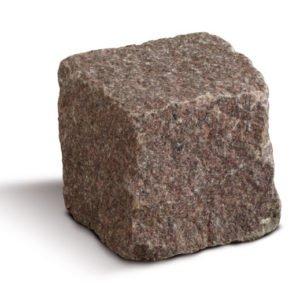 borga marmi cubetti pavè granito rosso